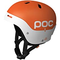 POC Casco da sci Frontal, Multicolore (orange/white), M