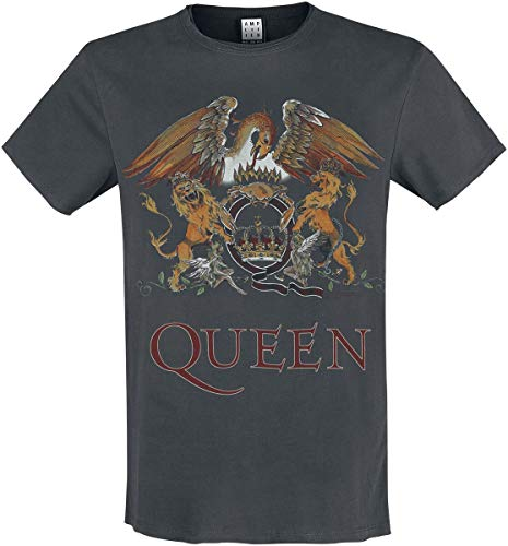 Amplified Queen Coral Crest Mens T-Shirt (XX-Large)