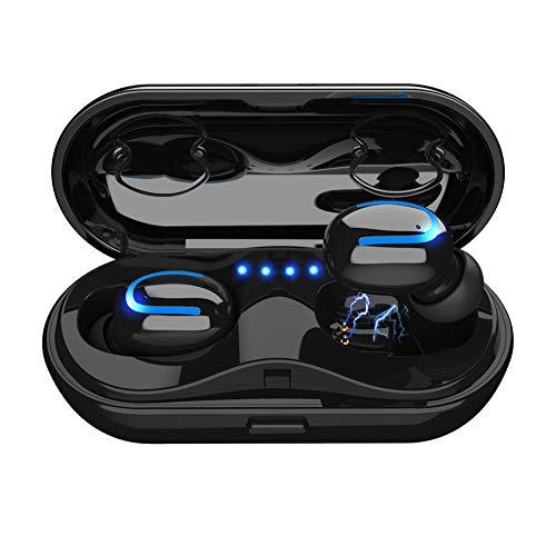 Bluetooth Kopfhörer, ROTTOGOON Q13S Bluetooth Kopfhörer in Ear Bluetooth 5.0 Headset Stereo-Minikopfhörer Sport Kabellose Bluetooth Kopfhörer mit Portable Mini Ladekästchen und Integriertem Mikrofon