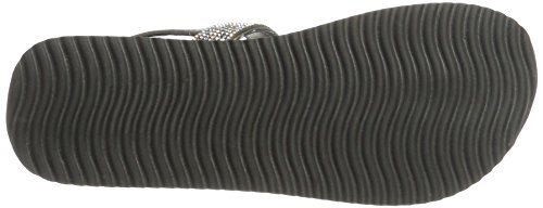 FLIP-FLOP-30300-858 de Material Sintético mujer Sandales gris - Gris - acero