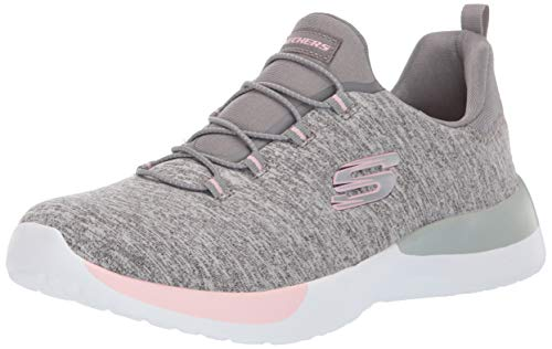 Dynamight-Break-Through Damen Sneaker Slipper grau/rosa, Größe:41, Farbe:Grau ()