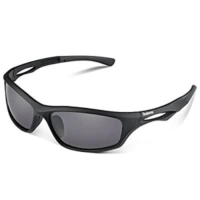 Duduma Polarised Sports Mens Sunglasses for Ski Driving Golf Running Cycling Tr90 Superlight Frame Design for Mens and Womens