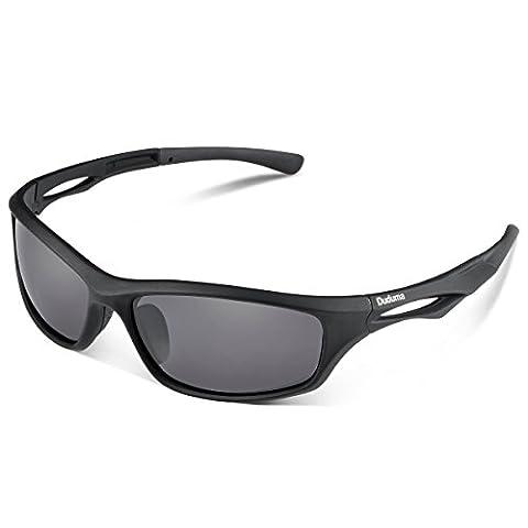 Duduma Polarised Sports Mens Sunglasses for Ski Driving Golf Running