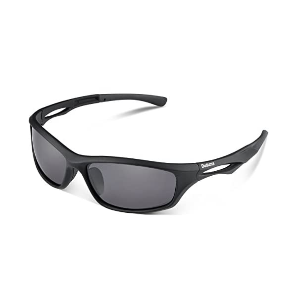 Duduma Polarised Sports Mens Sunglasses for Ski Driving Golf Running Cycling Tr90 Superlight Frame Design for Mens and Womens 1