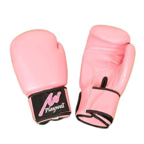 Guantes de boxeo pro Cuero Mujer Rosa - 10oz