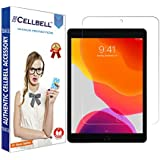 """CELLBELL Tempered Glass Screen Protector with Installation Kit for iPad (10.2"""")-2019[Transparent]"""