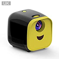 Cathy02Marshall LED Movie Projector Mini Projector 1080P Full HD Home Theater Video Projector with HDMI Cable for USB TF TV Laptop Game premium