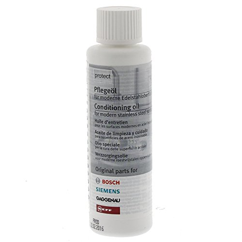 Bosch 311567 Edelstahlpflegeöl für Edelstahloberflächen 100 ml