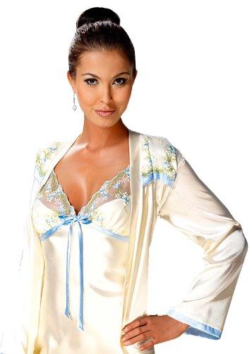 Irall -  Camicia da notte  - Donna Creme / Blau