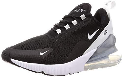 Nike Damen W AIR MAX 270 Leichtathletikschuhe, Mehrfarbig (Black Pure Platinum/White 000), 37.5 EU