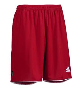 Adidas Parma Mens Sport shorts (Small, Red)
