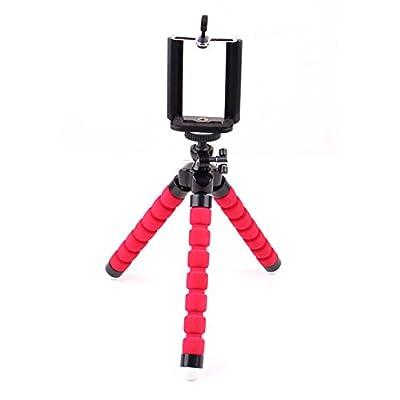 Kentop Kamera Ständer für Digital Kamera, Actions Cam Go Pro, Handy Stativ Flexibel Leichtes Outdoor Handy Dreibein Halter für iPhone, Samsung, Huawei und Andere Smartphone