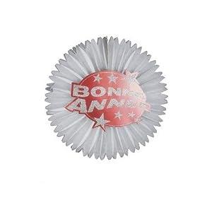 WIDMANN LIBROLANDIA 8052R ROSONE BONNE ANN?E GLITTER ROSSO