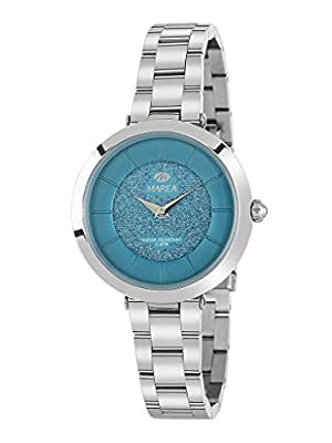 Reloj Marea Analógico para Mujer B54137/4 con Esfera Turquesa de Purpurina