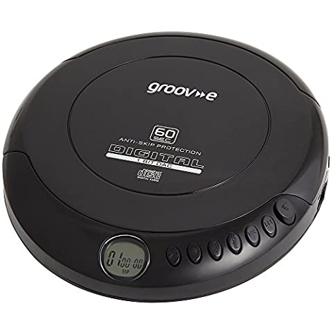 Groove Personal CD Player - Black