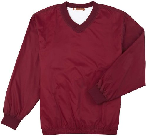 Harriton - Blouson - Duffle coat - Homme Rouge - Bordeaux