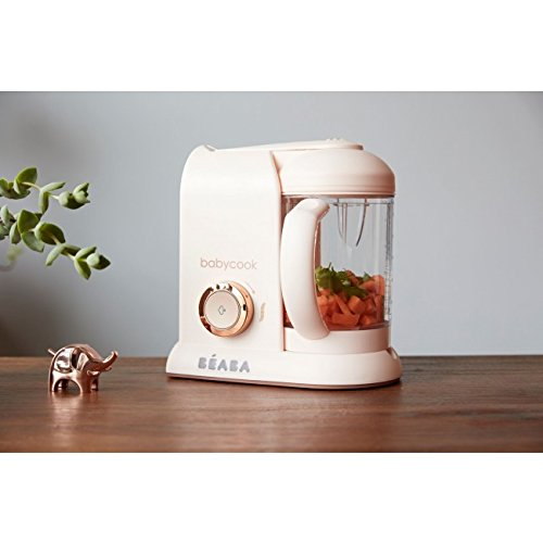 Béaba Babycook Solo ROSE GOLD - Küchenmaschine 4-in-1 (UK IMPORT)