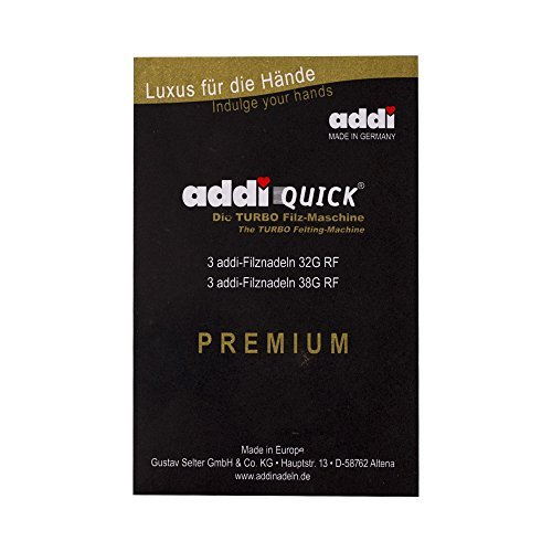 ADDI 851-2 Quick Ersatznadeln, Set mit 6 Nadeln -
