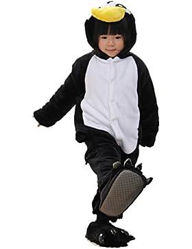 Nicetage Fasching Kinder Jumpsuits Tiere Cosplay Karneval Tierkomstüme Overall Schlafanzug Hausanzug