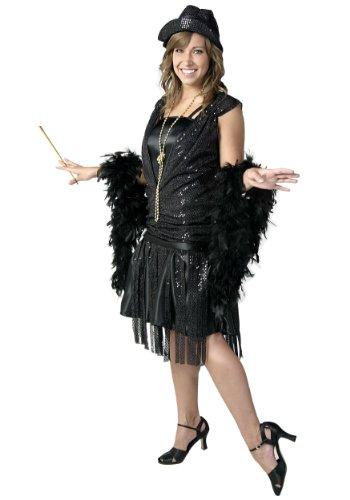 Black Jazz Flapper Fancy dress costume - Black Jazz Flapper Kostüm