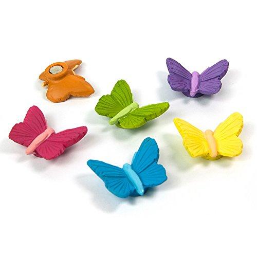 Schmetterling Magnete für Magnettafel Kühlschrank Whiteboard Pinnwand 6 Kühlschrankmagnete Kinder (Schmetterling-kühlschrank-magnete)