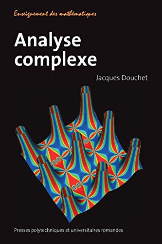 Analyse complexe par Jacques Douchet