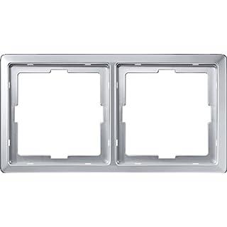 Merten 481260 ARTEC-Rahmen, 2fach, aluminium