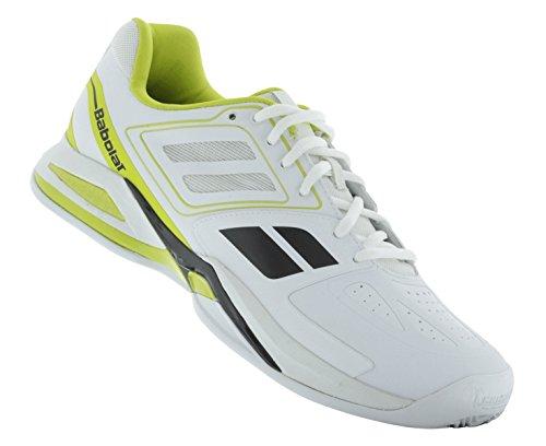 Babolat ProPulse Team BPM Clay Men white/light green/black weiß/gelb