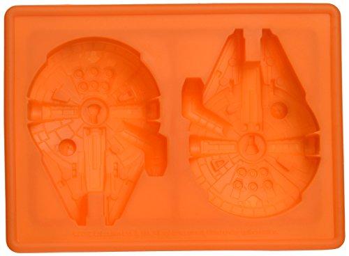 Star Wars Halcón Milenario de silicona bandeja de hielo