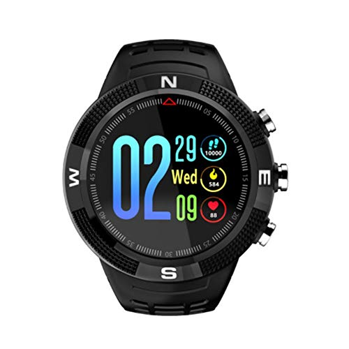 Bubbry Smartwatch F18 Dial Redondo IP68 Impermeable