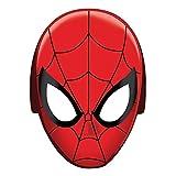 PARTY DISCOUNT Neu Maske Spiderman aus Pappe, 8 Stück