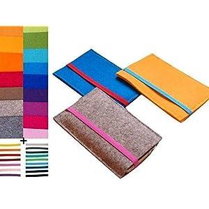 Wunschfarben, Handyhülle, Smartphonehülle, Handytasche, Filztasche für Handy, Iphone Hülle, Filz