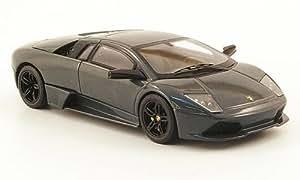 Lamborghini Murcielago LP640, noire-gris (Elite) , voiture miniature, Miniature déjà montée, Mattel Elite 1:43