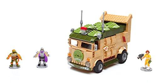 Mega Bloks Teenage Mutant Ninja Turtles Classic Series Party Wagon Construction ()