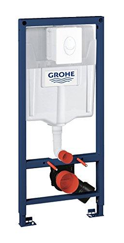GROHE Rapid SL Set 2in1 für Wand-WC, 1,13 m, Betätigungsplatte Skate Air alpinaweiß 38764001