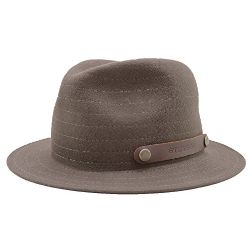 stetson-hershey-wool-vitafelt-uomo-piegevole-l-75-marrone