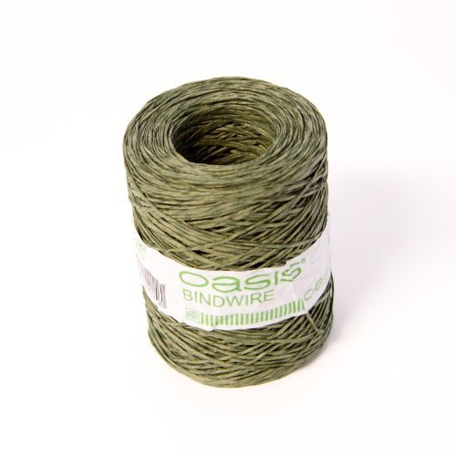 ire Paper Covered Wire Roll 205 Metres by Smithers Oasis ()