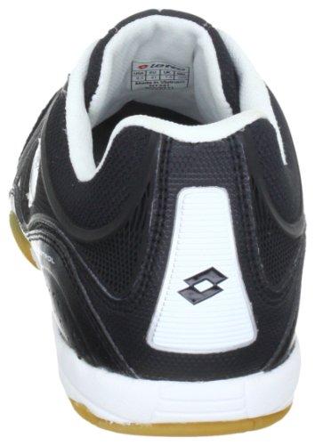 Lotto Sport Futsal Pro Iv Id N1331, Scarpe Da Calcio Uomo Nero (Schwarz (Black/White))