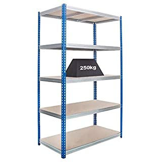 Anco 2500 x 1200 x 450mm Industrial Shelving