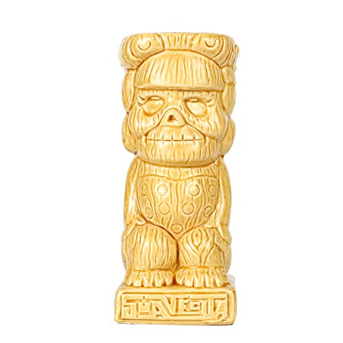 Tiki Mugs - Suavecita Tiki Tasse, 380 ml, Cocktailbecher für Mai Tai, Punch, Pina Colada und Tropical Bar Drinks - TIKI0016 13oz/380ml -