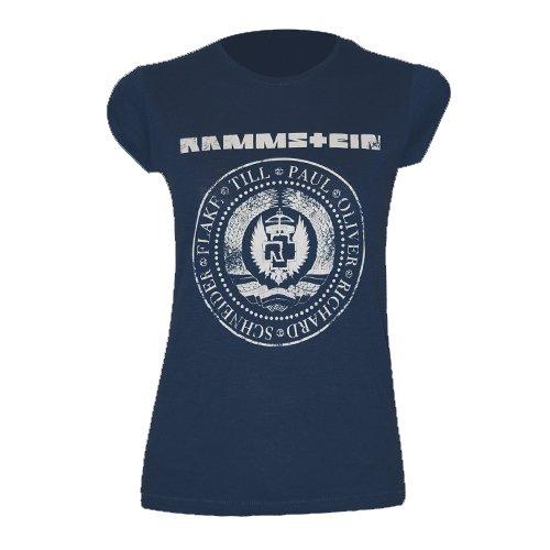 """Rammstein, T-shirt per donne """"Est. 1994"""" (S)"""