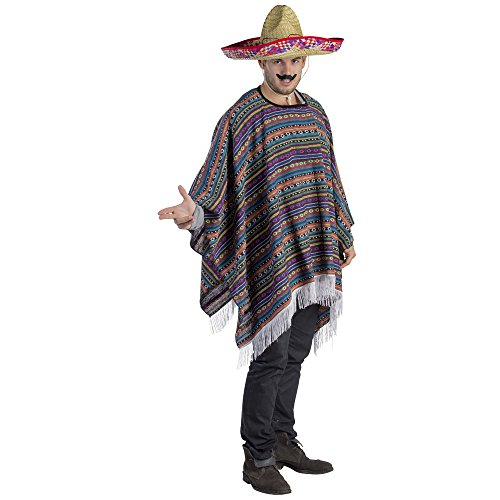 achsenes mexikanisches Poncho-Kostüm (Passende Vater-sohn-halloween-kostüme)