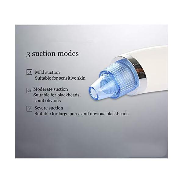 ICVDSRG Instrumento EléCtrico De Espinillas Limpiador De Poros Facial Herramienta De EliminacióN De Espinillas Limpiador De Poros,Pink