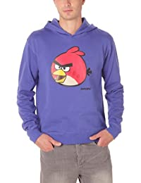 Angry Birds - Sweat-shirt à Capuche - Fantaisie - Molleton - Homme