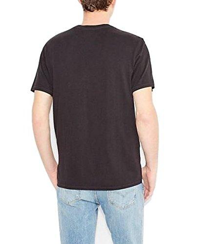 Levi's Herren T-Shirt Graphic Set-in Neck 17783-0102 Schwarz (C18889 501 BLACK GRAPHIC H215-501 4.1 99)