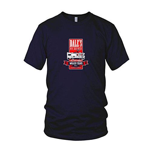 Carl Kostüm Grimes - Dale's Walker Tours - Herren T-Shirt, Größe: XXL, dunkelblau