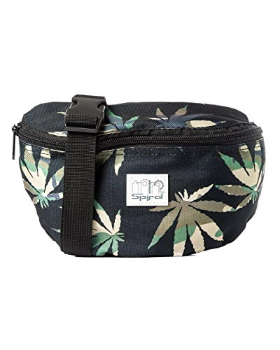 iHeartRaves Ganja Weed Fanny Pack - 4003, Césped camuflaje