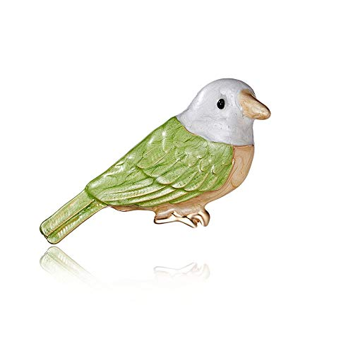 Kostüm Frauen Niedlichen Kreative - Ningz0l Brosche Boutonniere Kreative Vogel Malerei Öl Niedlichen Tier Kragen Nadel Kleidung Tasche Schmuck Weibliche 2 * 5 cm
