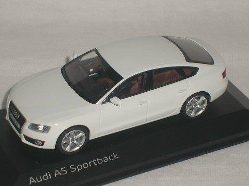 Preisvergleich Produktbild AUDI A5 A 5 SPORTBACK SPORT BACK WEISS 1 / 43 SCHUCO MODELLAUTO MODELL AUTO