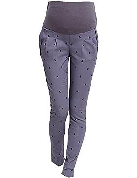 BOZEVON Incinte Pantaloni Donne Addominali di maternità di Alta Pantaloni Elastici delle Ghette di Pancia